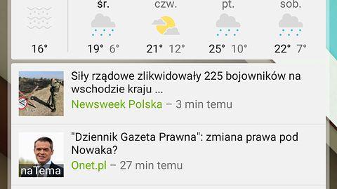 Nowa odsłona wiadomości i pogody od Google wygląda naprawdę świetnie