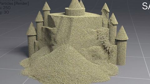 Houdini 14 – renderowany piasek jeszcze nigdy nie był tak prawdziwy