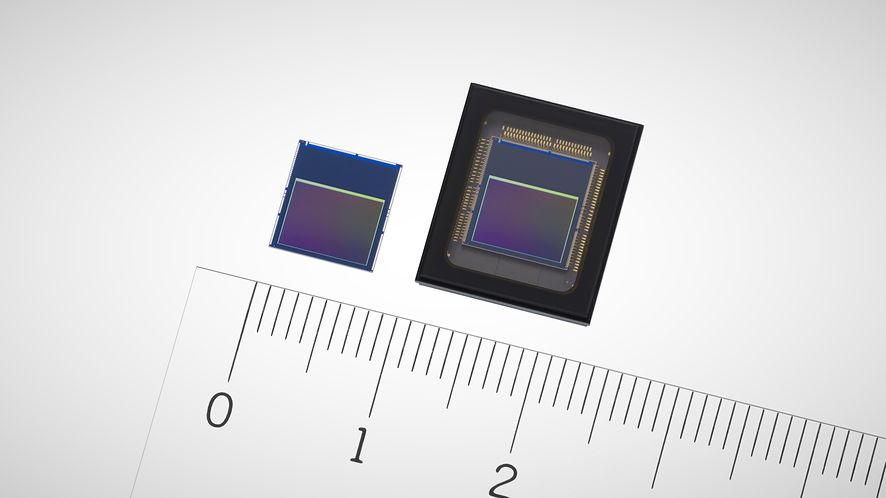 Sony prezentuje nowe matryce z czipami wykorzystującymi SI, fot. Sony