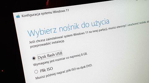 Windows 11 z pendrive'a lub pliku ISO. Zobacz, jak utworzyć nośnik