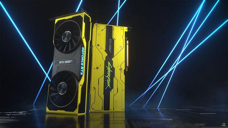 GeForce RTX 2080 Ti CyberPunk 2077 Edition można zdobyć wyłącznie dzięki wygranej w konkursie.