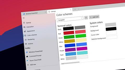 Windows Terminal na Build 2021: teraz może być domyślnym terminalem w Windows 10
