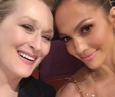 Oscarowe selfie Jennifer Lopez