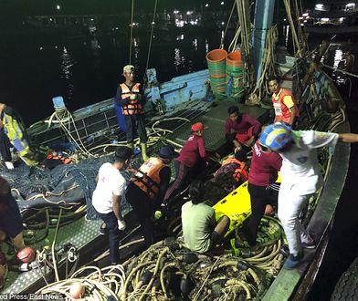 W pobliżu wyspy Phuket zatonął statek