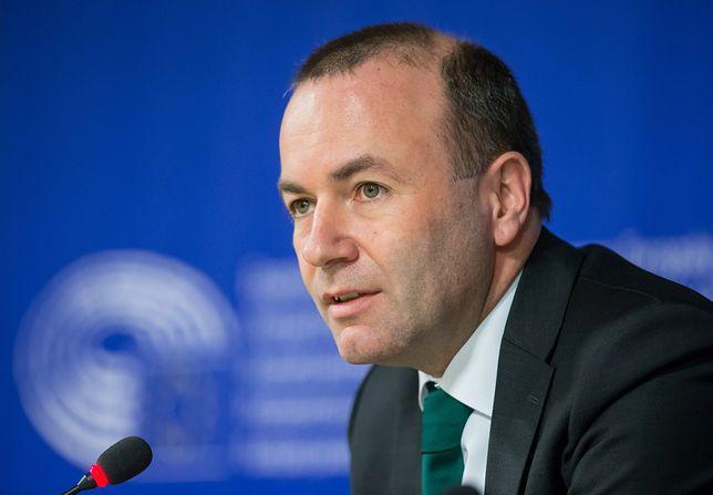 Kandydat na szefa KE Manfred Weber chce odbierania funduszy UE za łamanie norm praworządności