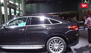 Frankfurt 2019: Mercedes GLE coupe. Niemcy rozszerzają gamę SUV-ów