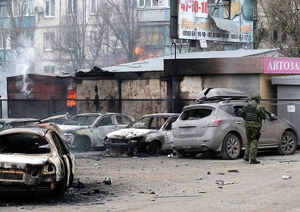 Polska stanowczo potępia ostrzał cywilów w Mariupolu na Ukrainie