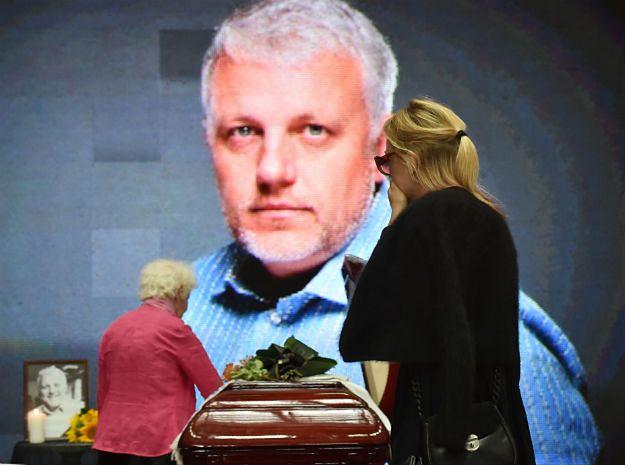 Pożegnanie Pawła Szeremeta