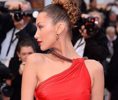 Bella Hadid na premierze filmu Almodovara w Cannes wyglądała olśniewająco