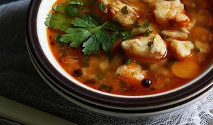 Zupa z morszczuka. Pyszna, lekka i aromatyczna