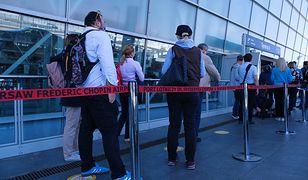 Koronawirus w Polsce i na świecie. Z lotniska Chopina w Warszawie odleci pierwszy od 2,5 miesiąca samolot