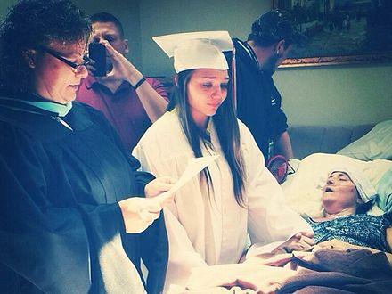 Spełniła marzenie umierającej na raka mamy