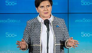 Beata Szydło nie przewiduje zmian w programie 500 plus