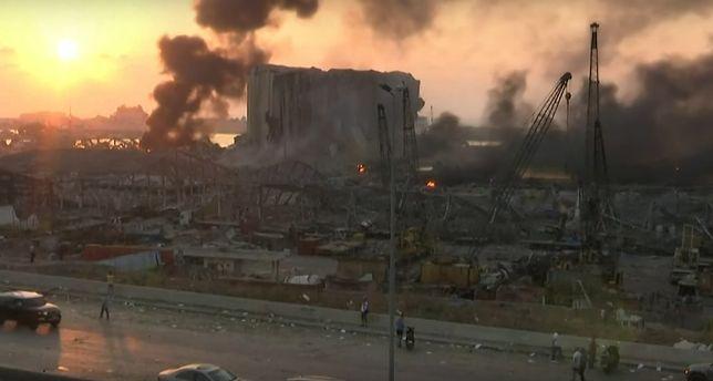 Wybuch w Bejrucie. Eksplozja była tragiczna w skutkach