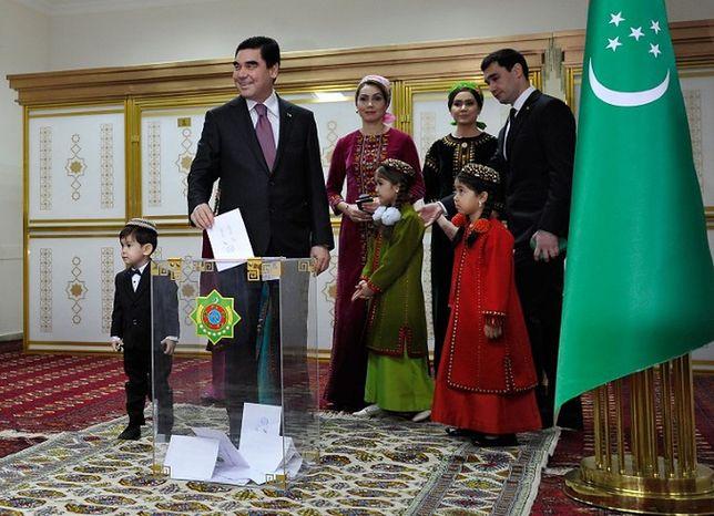 Turkmenistan: Kurbankuły Berdymuchammedow ponownie prezydentem