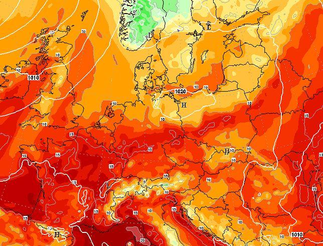 Fala upałów dotarła do Polski