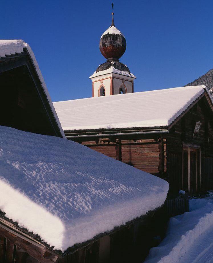 Zima w Karyntii (zdjęcie ilustracyjne)