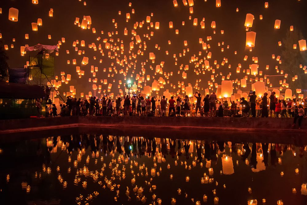 13 listopada jedź do Tajlandii po szczęście. Weź udział w Festiwalu świateł
