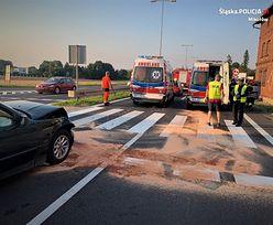 """Wypadek na """"wiślance"""". Auto wjechało w matkę z trojgiem małych dzieci"""