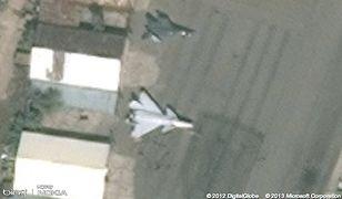 Tajny rosyjski myśliwiec w Bing Maps