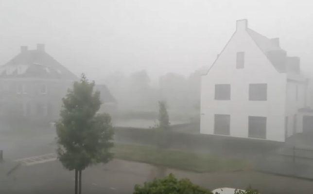 Załamanie pogody w Holandii. Przez kraj przechodzą nawałnice