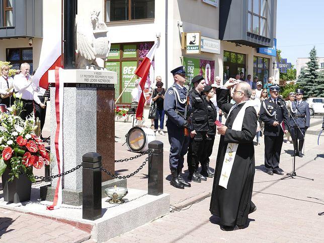 Lubelskie. Święcenie pomnika Lecha Kaczyńskiego