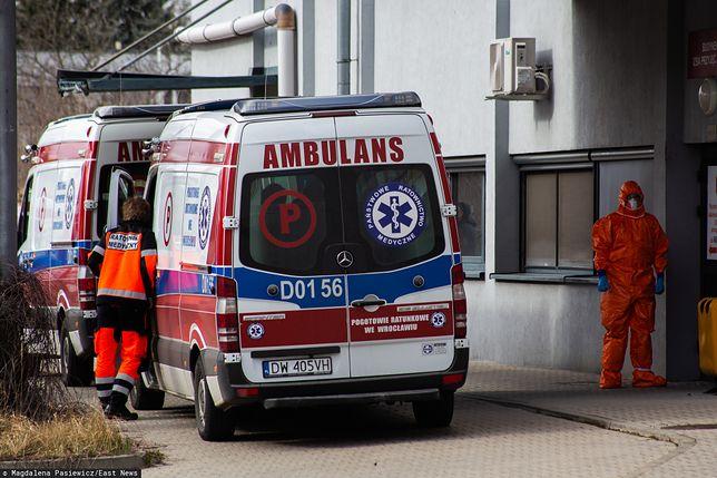 Koronawirus w Polsce. We Wrocławiu zmarli dwaj mężczyźni zakażeni koronawirusem