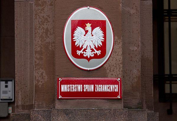 MSZ: Polska zaniepokojona doniesieniami o naruszaniu przez Rosję Traktatu INF