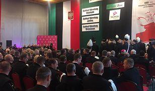 Prezydent przybył świętować Barbórkę wspólnie z górnikami