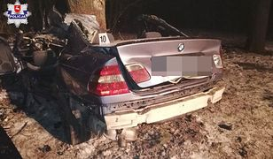 Kierowca nie przeżył.