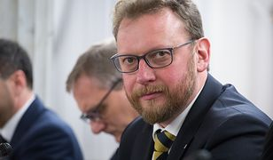 Politycy PO podczas konferencji prasowej wyjawili kolejne dokumenty, świadczące ich zdaniem o kłamstwie Szumowskiego