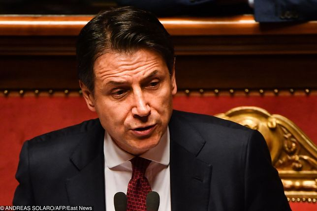 Włochy. Antonio Conte (p.o. premiera Republiki)