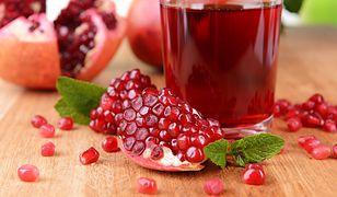 Sok z granatu to bogate źródło witamin i składników mineralnych.