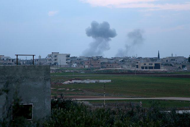 Trwa ofensywa syryjskich sił rządowych, wspieranych przez Rosjan, w Idlib w Syrii