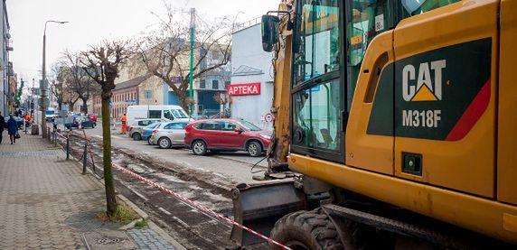 Sosnowiec. Rozpoczęły się remonty ulic.