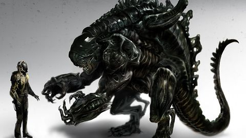 Szkice koncepcyjne i informacje o skasowanym Aliens RPG