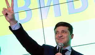 Druga tura wyborów odbędzie się 21 kwietnia. (Na zdjęciu Wołodymyr Zełenski)