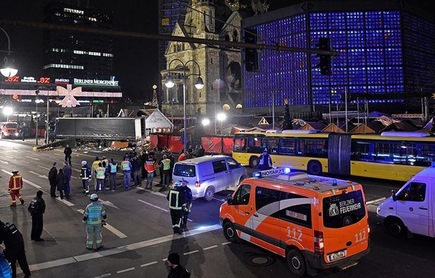 """""""To przypomina masakrę w Nicei"""". Media spekulują o ataku w Berlinie"""