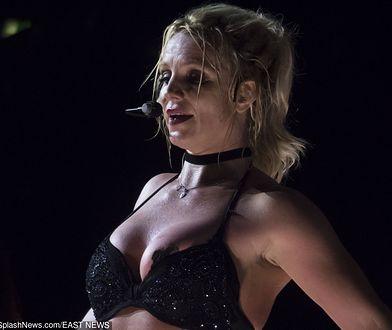 Britney Spears w seksownej bieliźnie na scenie. Fani mieli uciechę