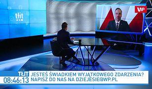 """Politycy Solidarnej Polski powinni """"pakować biurka""""? Janusz Kowalski: od rana pracuję"""