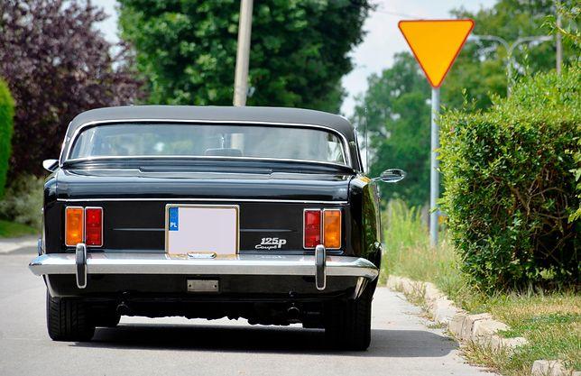 Zmodyfikowany Fiat 125p