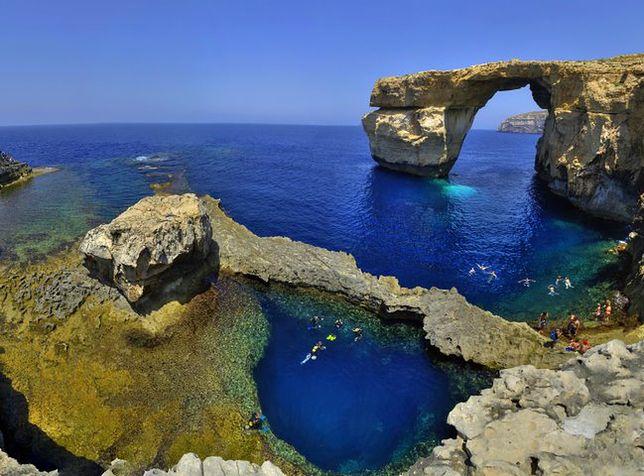 Blue Hole, Gozo, Malta