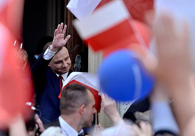 Duda odebrał akt wyboru na prezydenta - zdjęcia