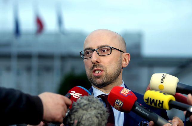 Krzysztof Łapiński, były rzecznik PiS.