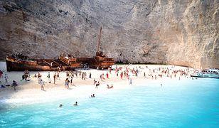 Plaża Nawajo przyciąga w sezonie letnim tłumy urlopowiczów