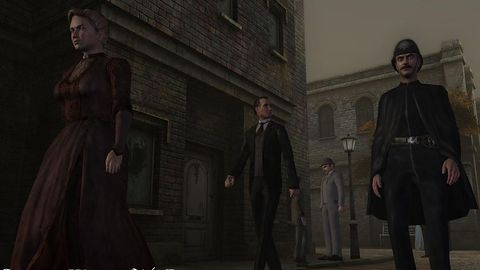 Galeria: Sherlock Holmes vs Jack the Ripper