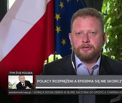 Koronawirus w Polsce. Łukasz Szumowski o rygorach sanitarnych jesienią