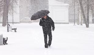 Rosja - Moskwa sparaliżowana z powodu obfitych opadów śniegu.
