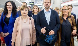 Hanna Gronkiewicz-Waltz i Rafał Trzaskowski.