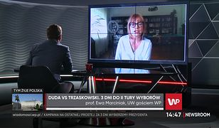 Wybory 2020. Profesor Ewa Marciniak: obaj kandydaci przejdą do historii jako niedebatujący